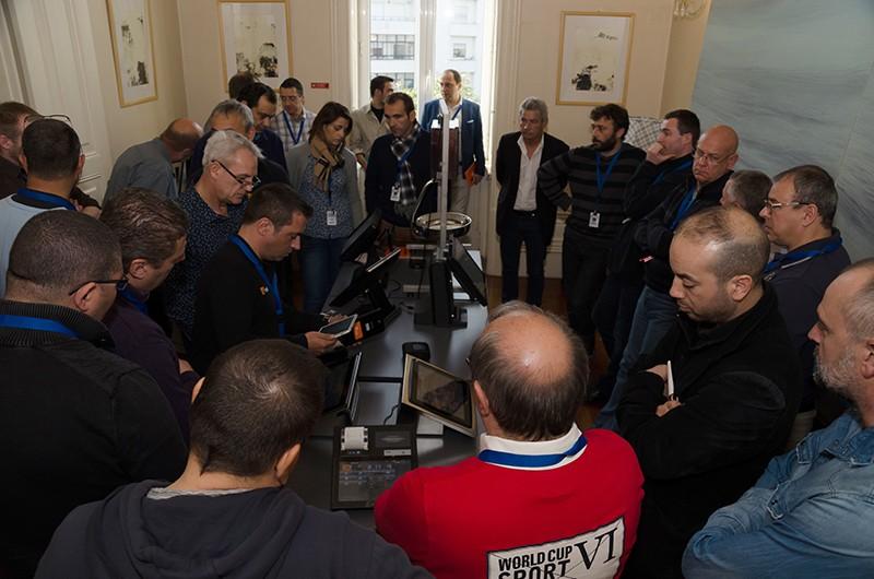 Ação de formação para revendedores de França e Bélgica foi um sucesso