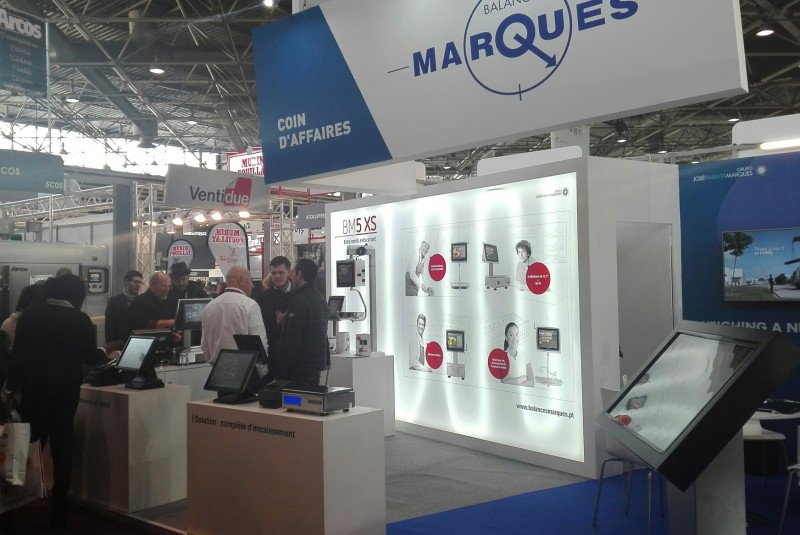SIRHA confirmed the growth of Balanças Marques in France