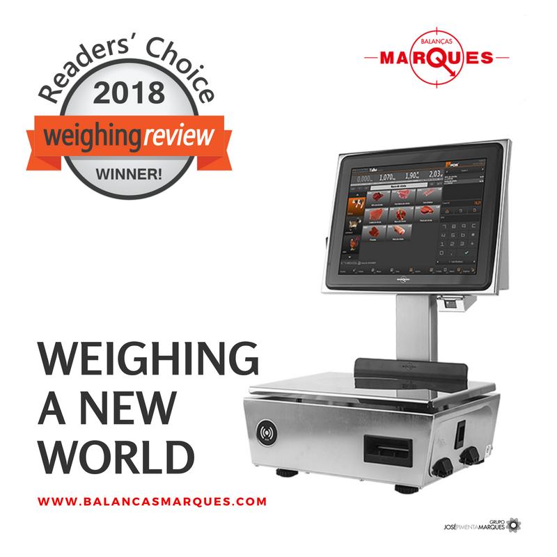 Balanças Marques nomeada nos prémios Weighing Review Awards 2018