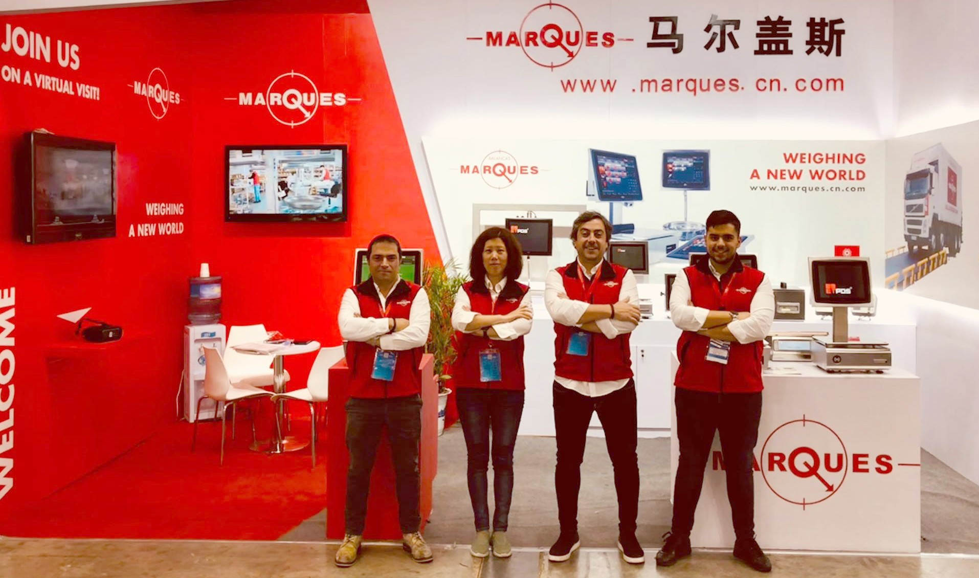 Balanças Marques presents a positive balance of its participation in the largest world weighing fair