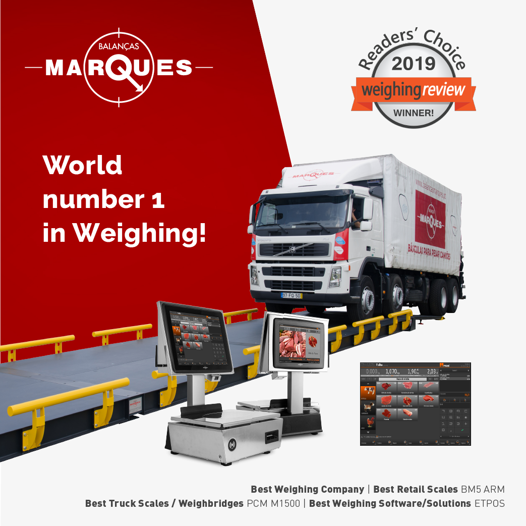 Balanças Marques elected the best weighing company in the world