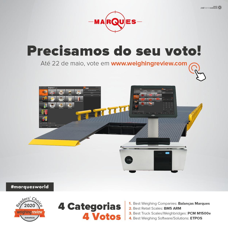 Balanças Marques representa Portugal nos prémios mundiais da pesagem
